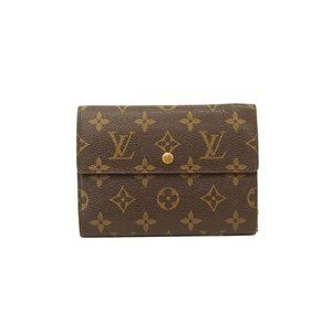 Auth Louis Vuitton Porte Tresor Wallet #N4635V79